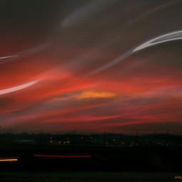 freetoedit myphoto rippleeffect sunset airport