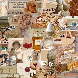 beige background backround aesthetic collage freetoedit