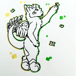furry furryart furryfandom furries doodle
