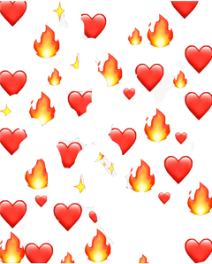 freetoedit emoji hearts fire haveagoodday