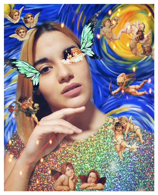 #freetoedit #replay #angels #vangoghart
