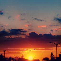 sunset lightcrosseffect hdr2 colorful glowing freetoedit