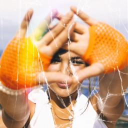 freetoedit glass broken brokenglass rainbow rainbowprism prism