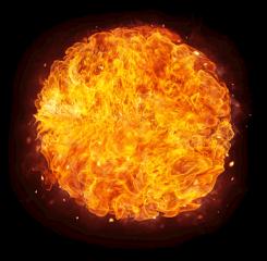 freetoedit fire fireball hot element