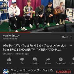 whydontwe trustfundbaby acoustic limelight youtube