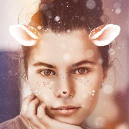 freetoedit unsplash deer deergirl deerling