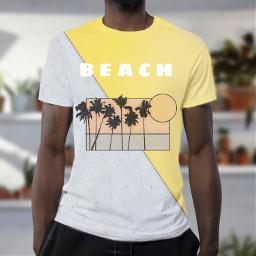 beach beachdays teeshirt tshirt shirt freetoedit ircdesignatee designatee