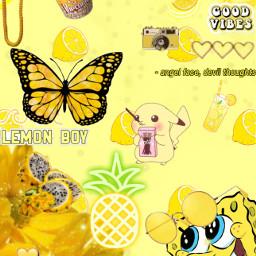 yellowaesthetic yellowflower yellowbackground cutebackground summer freetoedit