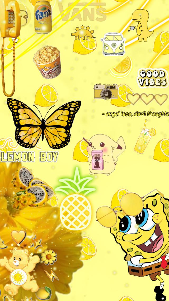 #yellowaesthetic #yellowflower #yellowbackground #cutebackground #summer  #freetoedit