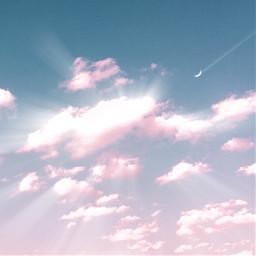 athestic pinkclouds heaven clouds cloud freetoedit