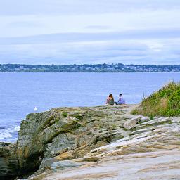 freetoedit outdoorphotography lagoon cliff peaple