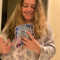 latepost selflove selfie hairdo