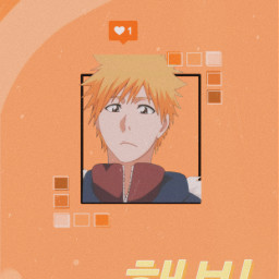ichigokurosaki bleach animewallpaper anime freetoedit
