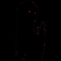 freetoedit kakegurui yumeko anime silhouette