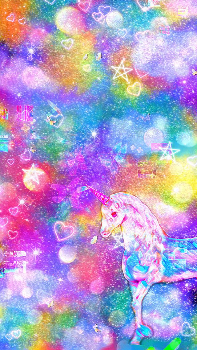 #freetoedit #unicorn #00s #vibes #trippy #rainbow #kid #kidcore #old #fun #badbitch #wtf