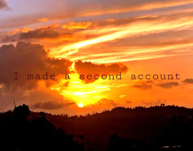 My second account is @-_cookieegirl02_- plesse follow it uwu  #freetoedit