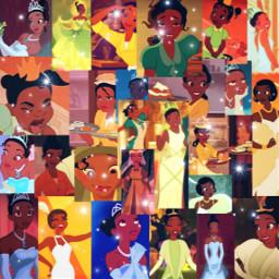 tiana princessandthefrog aesthetic collage disney freetoedit