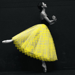 freetoedit srcfreshlemons freshlemons lemons ballerina