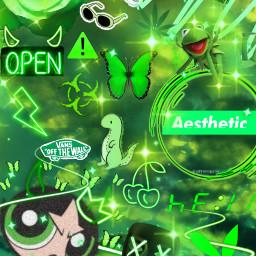 greenaesthetic greenbackround asthetic green black freetoedit