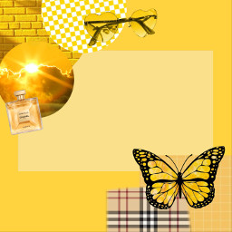 yellow yellowaesthetic aesthetic border pictureframe freetoedit