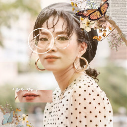 butterfly butterflies vintage edit art freetoedit ircsimplestyle simplestyle