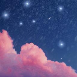 freetoedit clarkpics tuesdaymood cloudscape nightsky