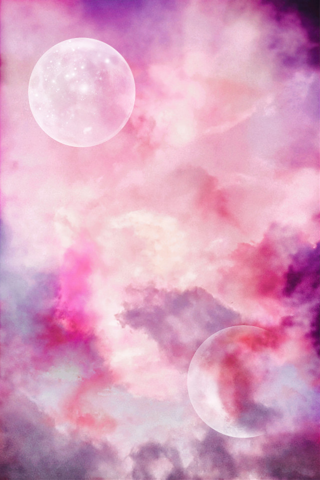 #background #freetoedit #sky #pink #space #remixme #moon #beautiful #universe #picsart #myedit #remixit #clouds