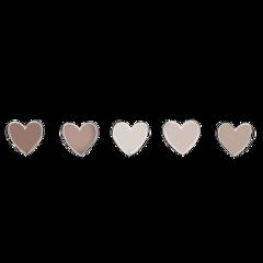 tan tanaesthetic aesthetic hearts love