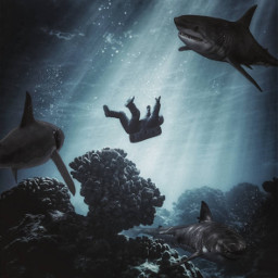 picsart madewithpicsart spaceart underwater surreality freetoedit