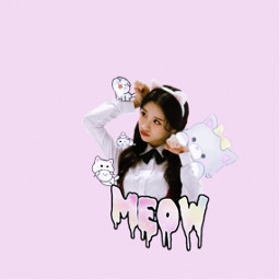 freetoedit kpop aesthetic pink kitty
