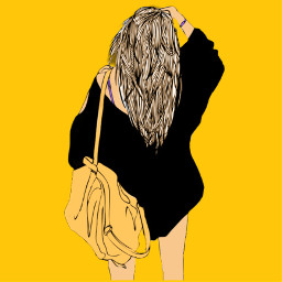 freetoedit girl backpack bag sweatshirt
