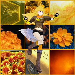 freetoedit yellow rwby rwby_yang yangxiaolong ccyellowaesthetic yellowaesthetic
