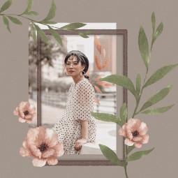 freetoedit floral frame flowerframe background ircsimplestyle