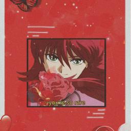 kurama yuyuhakusho animewallpaper anime freetoedit