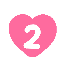 number2 number decorations birthday journal schedule freetoedit