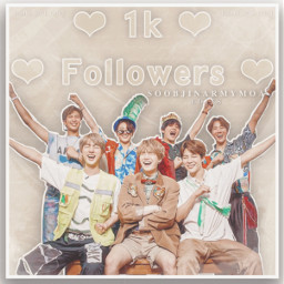 1k 1kfollowers thankyou bts bangtanboys freetoedit