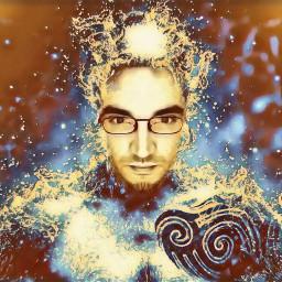 fantasy fantasyart fantasyartwork colorful splash