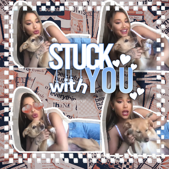𝓈𝓉𝓊𝒸𝓀 𝓌𝒾𝓉𝒽 𝓎𝑜𝓊 <𝟥      person in edit: ariana grande      filter: none      music video:  Stuck with You By Ariana Grande, Justin Bieber       color theme: pink and blue    IB:  no one    credits to: @bocajupiter for the ariana stickers     credits to: @momohelpsyou for the background    saturday shoutout: @blesiv_fanpagez go follow my friend and get her to 100 :)    taglist💞:   @caroline_edgeworth  @5637859  @diamondboca  @c0n5um3  @lilbilly4ever   @familybyarianagrande  @bqtterflybutera  @xxxlarrayzxxx  @jxdnhosslersimp  @nichexcloud  @alaanime_16  @thelast_suga  @_prpl_  @lyly_are_lyla  @fatoosh_1644  @appservice_uz  @charli_damelio96  @luna_ginny_grangerxo  @gainacc-  @flqffyxcloud  @arigrandebillieeilish  @halo_outlines  @stqwberry_michi   #arianagrande #arianators4life #music #fyp #stuckwithu #justinbieber #arianagrandeedit  #freetoedit   have a good day! <3