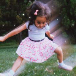 jump kid love summer shine freetoedit