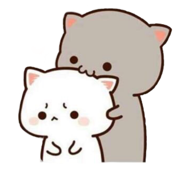 #freetoedit #sticker #uwu #cats #couple #love #cute #cutecat