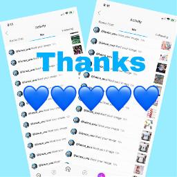 thanks blue blueheart