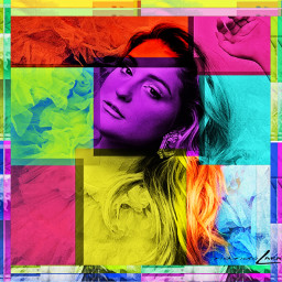 arte cubism colores mujer picture freetoedit ircmeghantrainorfanremix
