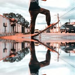 freetoedit skaterboy streetphoto kidsparty pcwaterreflection