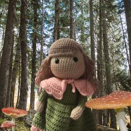 freetoedit crochet doll crochetdoll amigurumi