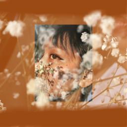 freetoedit flower hongkongstyle brown selfie