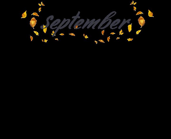 #freetoedit #september #calendar #septembercalendar #fall