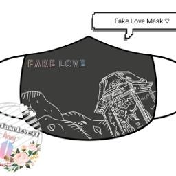 bts fakelovebts mask mascarillas diseño freetoedit