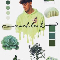 freetoedit noahbeck green aesthetic greenarrow