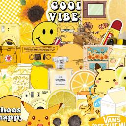 yellow aesthetic background backround backgrounds freetoedit