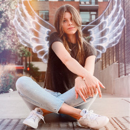 angelwings angel madewithpicsart freetoedit